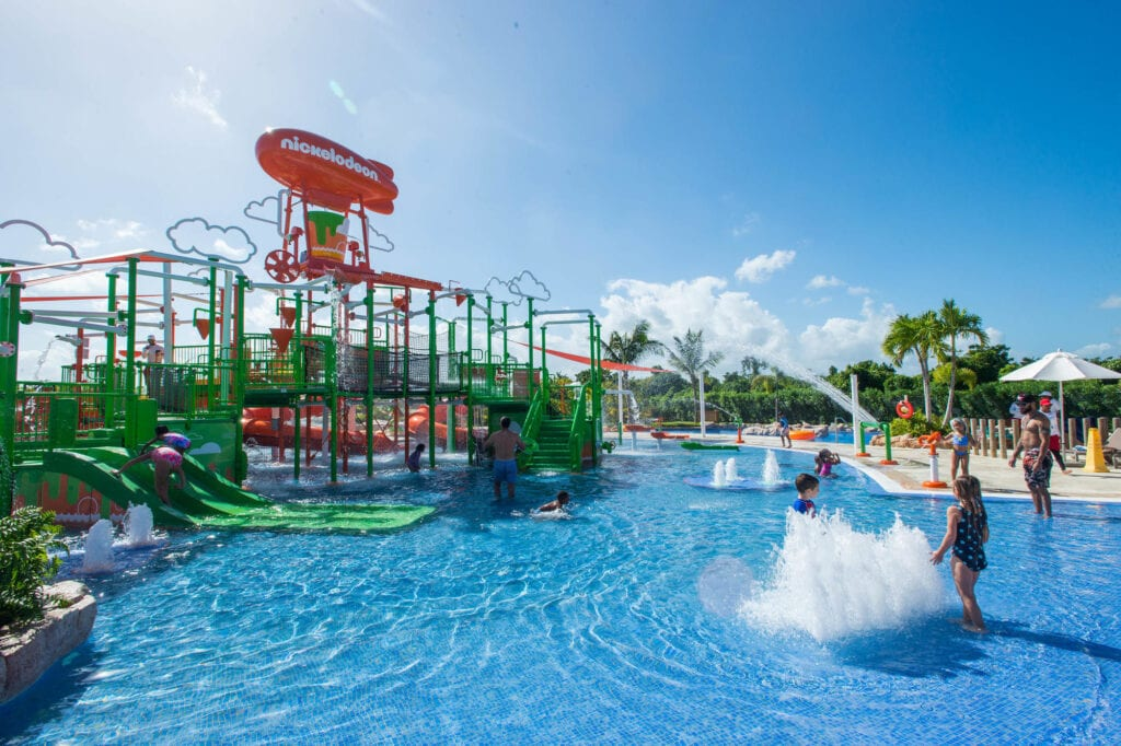 Best All-Inclusive Caribbean Resorts with Water Parks nickelodeon punta cana